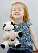 therapeutic anxiety stuffed stuffed cow