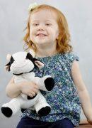 therapeutic anxiety stuffed stuffed cow