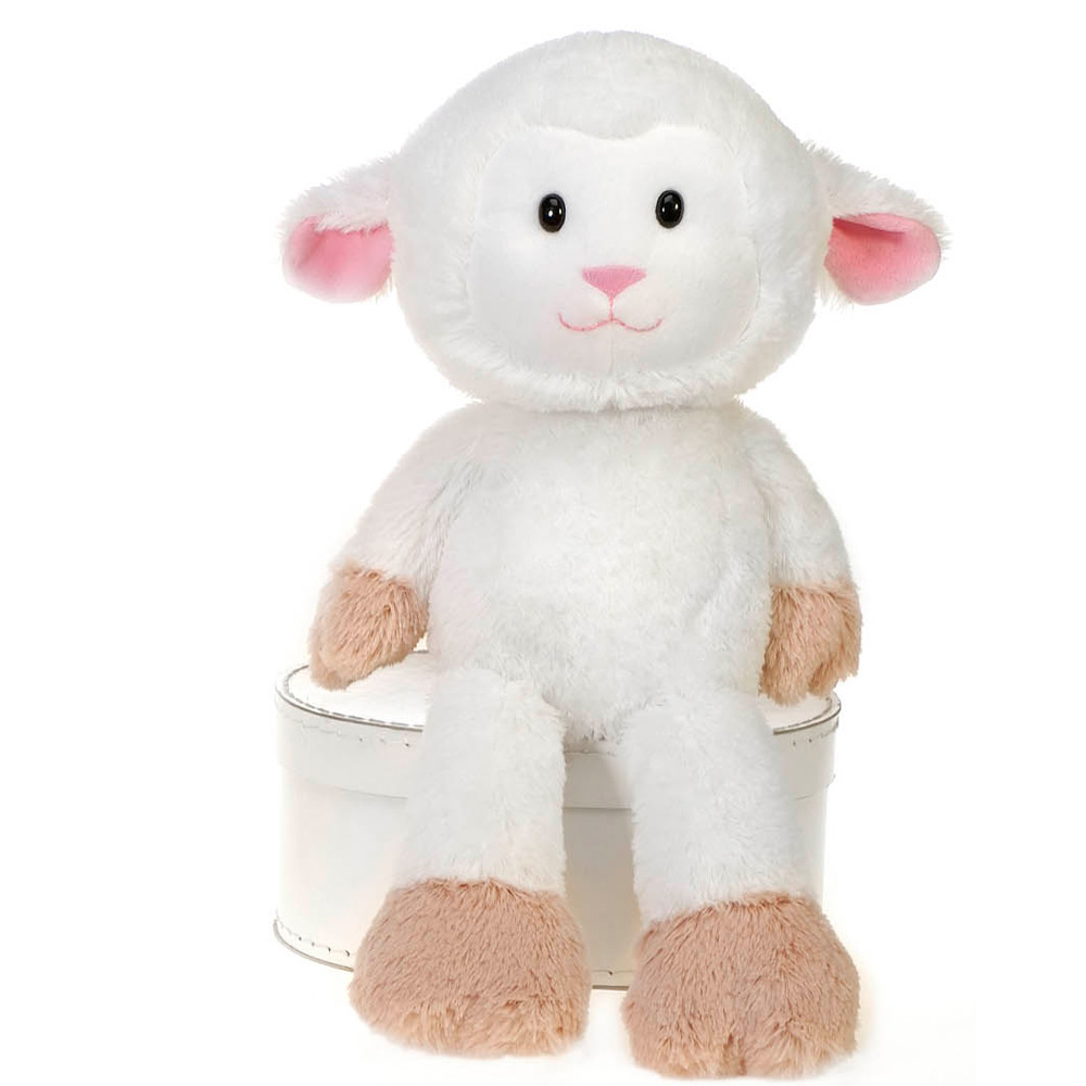 New Nelly Cuddle Fuzzy Collection Lamb Microwavable Toy